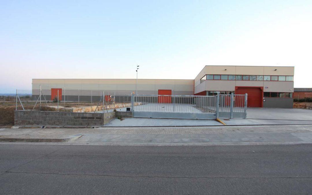 Construcció nau industrial de la Diputació de Lleida a La Caparrella, Lleida