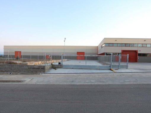 Construcción nave industrial de la Diputación de Lleida en La Caparrella, Lleida