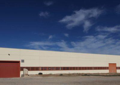 Construcción nave industrial en La Caparrella, Lleida