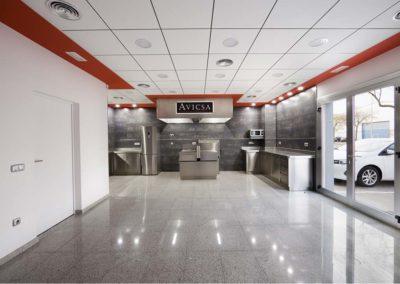 Construcció cuina AVICSA Sabors Selectes, Lleida