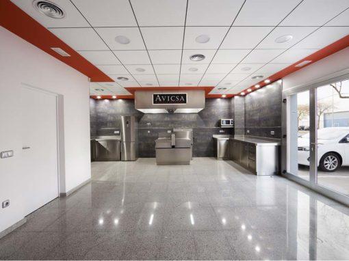 Construcción cocina AVICSA Sabors Selectes, Lleida