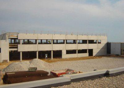 Construcció nau industrial a Lleida