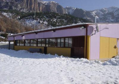 Construcció CEIP Espluga de Serra de Tremp