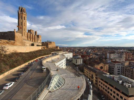 Rehabilitación integral de la cubierta Juzgados y Audiencia de Lleida