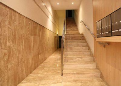 Supresión barreras arquitectónicas edificio en calle Unió, Lleida