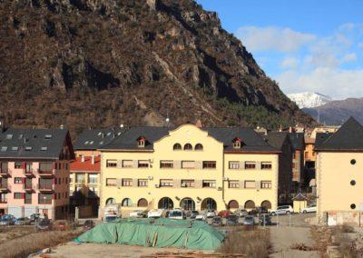 Rehabilitació integral edifici d'oficines Endesa a Pont de Suert, Lleida