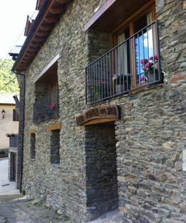 Rehabilitació habitatge unifamiliar a Montenartró, Llavorsí, Lleida