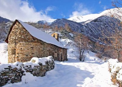 Restauración de la Ermita de la Mare de Déu de les Neus de Arreu, Lleida