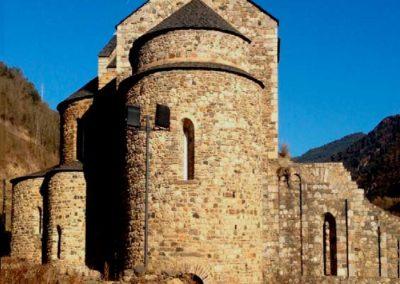 Restauración del Monasterio de Sant Terni de Tavernoles de Anserall, Lleida