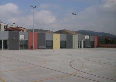 Construcció CEIP Sant Mateu de Riudecanyes, Tarragona