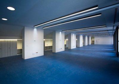 Reforma de la cubierta interior del Rectorado de la Universidad de Lleida