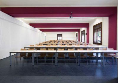 Reforma de las aulas del Rectorado de la Universidad de Lleida